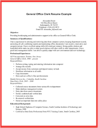 Postal Clerk Resume Sample Office Clerical Resume Best Photos Of Office Clerk Resume Templates 3