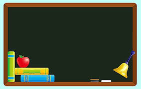 School Chalkboard Background Vector Cartoon Chalkboard School Education Cartoon Blackboard