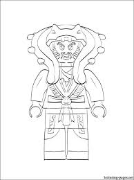 Ninjago Master Chen Coloring Pages