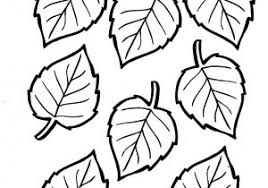 Sagome Foglie Da Ritagliare 1 Patterns Foglie Foglie