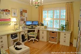 pottery barn home office. Building A Pottery Barn Inspired Home Office, Craft Rooms, There S Office L