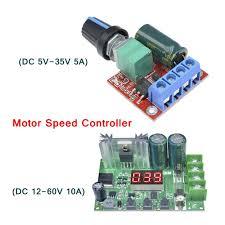 <b>DC 5V</b>-<b>35V</b>/12-60V PWM Motor Speed Controller 5A/10A DC ...