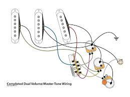 dual volume master tone strat wiring mod dual volume master tone strat wiring mod