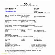 Resume For Teenager With No Work Experience New Formal Resume
