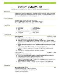 Sample Of Nursing Resume Best Of Rn Resume Examples Best New Grad