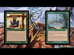 legacy mtg rug lands vs explorer pod