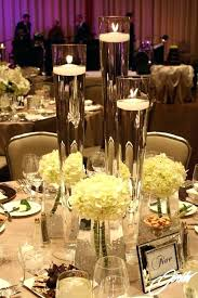 tall glass vases wedding centerpieces tall glass vase with white long vases wedding centerpieces gallery decoration