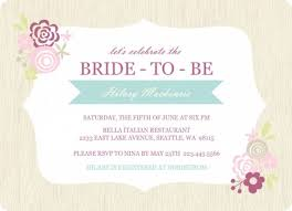 Free Bridal Shower Invitations Templates Delectable Free Bridal Shower Invitation Templates For Word