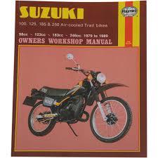 haynes repair manual suzuki ts air cooled trail bikes 100 125 haynes repair manual suzuki ts air cooled trail bikes 100 125 185
