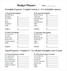 Child Care Budget Template Child Care Budget Template Centre Australia Church Meicys Co