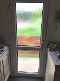 house in verwood cat flap removed from the bottom of the double glazed door and