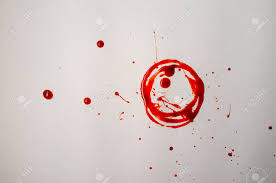 Blood Spatter Patterns Mesmerizing Bloody Background Blood Spatter Pattern For Evidence Or Halloween