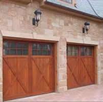 2 single garage doors