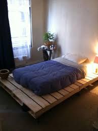 diy pallet bed frame tutorial