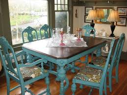 Great Idea To Give An Old Kitchen Table Or Chairs A New Look