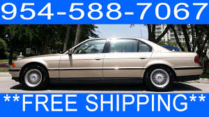 BMW Convertible 1990 bmw 750 : 1995 BMW 750IL V12 For Sale 954 588 7067 - YouTube