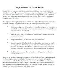 Business Memorandum Examples Memos Template Sample Legal Memorandum Format Business