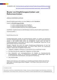 Bewerbungsmuster Vorlage Werkstudent Vorschau Referenzschreiben