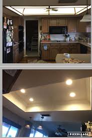 Kitchen Recessed Lighting Az Recessed Lighting Kitchen Transformation Demo Led Lighting