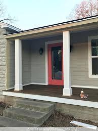 exterior column wraps. Porch Post Wrap Front Wraps Design Plans Stone . Exterior Column