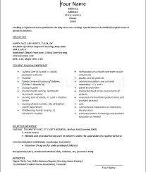 Registered Nurse Curriculum Vitae Sample Registered Nurse Resume Mmventures Co