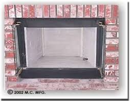 Fireplace With Gas Log But Also Burns Wood My Fireplace Heat Fireplace Refractory Panels