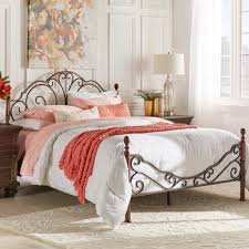 LeAnn Graceful Scroll Bronze Iron Bed by iNSPIRE Q Classic - Free Shipping  Today - Overstock.com - 12667946