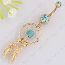 Dream Catcher Belly Bar Aliexpress Buy Belly ring body piercing jewelry Dangle 41