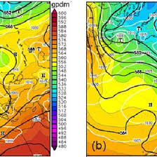 Weather Charts For 30 May A And 1 June 2013 B 00 00 Utc