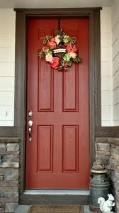 Coral Front Door Best 20 Orange Door Ideas On Pinterest Orange Front Doors