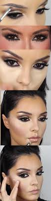 31 makeup tutorials for brown eyes kim kardashian makeup tutorial new brown smokey eyes