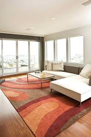 neutral color area rugs area rugs with contemporary family room and balcony view minimal sectional