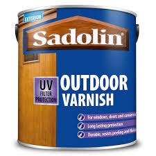Ronseal Varnish Colour Chart Sadolin Outdoor Varnish Sadolin
