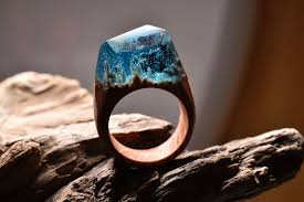 miniature scenes rings secret forest 28