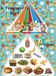Food Pyramid Project Terrells Blog Food Pyramid Project