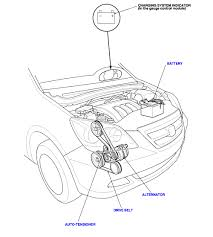 honda odyssey belt diagram honda odyssey 2005 honda drive belt i am looking to replace it myself