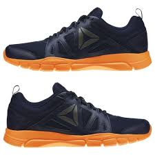 reebok training shoes. reebok men\u0027s trainfusion nine 2.0 dark blue training shoes
