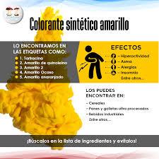 Revisa Las Etiquetas Colorante Sint Tico Amarillo Lo