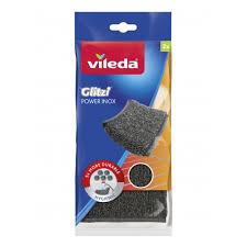 <b>Губка VILEDA</b> Инокс Пауэр, металлическая , 2 шт. — купить в ...
