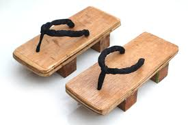 how to make a pair of geta wooden sandals