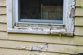 rotted window sills
