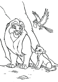 Pride Coloring Pages Lion King Coloring Pages And Coloring Pages Lion King 2 Simbas Pride