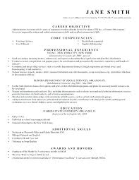 Sample General Objective For Resume Best of Resume General Objective Statement Example Of Career Objectives In