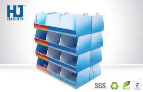 In Store Display Stands Cube Cardboard Display Stand For Products Promotion Retail Store 22