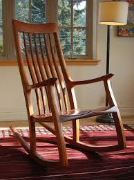 fantastic wood rocking chair unfinished b95d on stylish home inside wonderful teak wood rocking chair