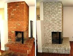 white painted brick fireplace painted brick fireplace painting brick fireplace before and after pictures white painted