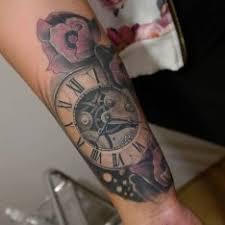 Black And White Ruka Vícebarevné 3d Tetování Tattoo