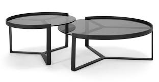 aula nesting coffee table black and