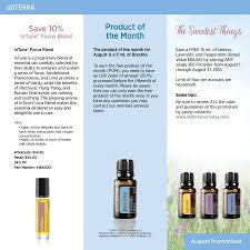 specials and promotions certified pure essential oils just in time for back to school you can get intune focus blend 10% off if you re a whole member intune was already marked down 25%
