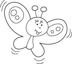 Disegni Da Colorare Per Bambini Di Farfalle Fredrotgans